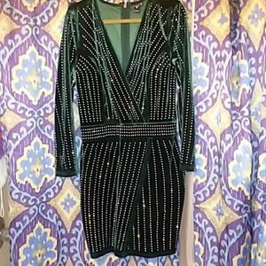 Windsor Green dress 1X